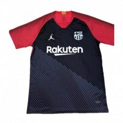 2018-2019 barcelona jordan black training short shirt jerse