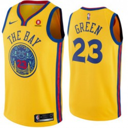 warriors green jersey