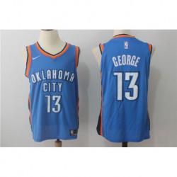 Paul george oklahoma city thunder authentic jerse