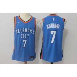 Carmelo anthony oklahoma city thunder authentic jerse