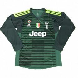 2018-2019 juventus green goalkeeper long sleeve soccer jerse