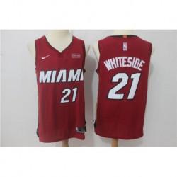 Hassan whiteside miami heat authentic jerse