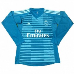 2018-2019 real madrid blue goalkeeper long sleeve soccer jerse