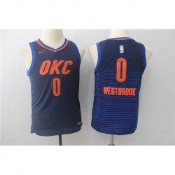 Russell westbrook thunder youth jerse