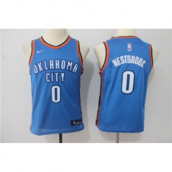 Russell westbrook oklahoma city thunder youth jerse