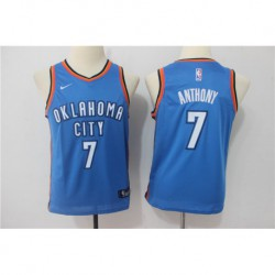 Carmelo anthony oklahoma city thunder youth jerse