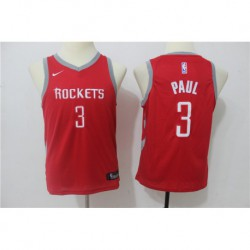 Chris paul houston rockets youth jerse