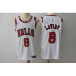 Joe Zach LaVine 8 Nike Chicago Bulls Icon Edition Swingman Jersey - red/White,chicago bull