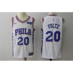 Joe Markelle Fultz 20 Nike Philadelphia 76ers Icon Edition Swingman Jersey - blue/White,philadelphia 76er