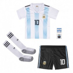 Argentina youth home soccer jersey full kits 201