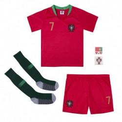 Cristiano ronaldo portugal youth home soccer jersey full kits 201