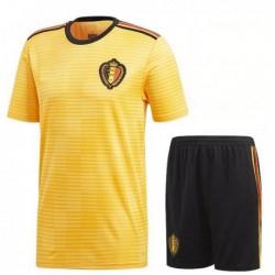 Belgium kid 2018 world cup away suit