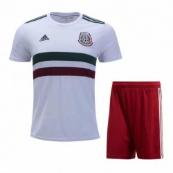 Mexico kid 2018 world cup away suit