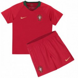 Portugal kid 2018 world cup home suit
