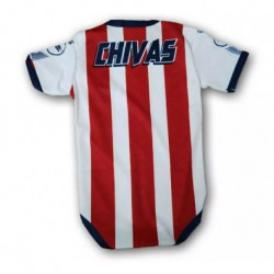 Baby Chivas Home Red White Infant Crawl Suit 201
