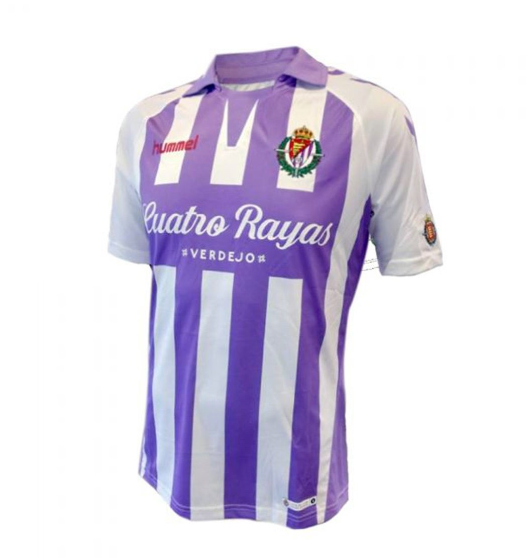 Cheap Soccer Equipment China,Best Fake Jordan Site,Valladolid Home Soccer Jersey 2018-2019