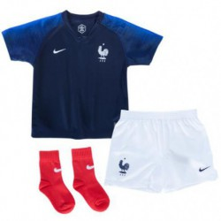 Youth france 2018 world cup home full suit