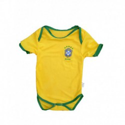 Baby Brazil Soccer Infant Crawl Suit 201