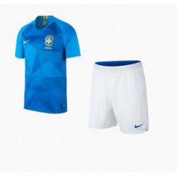 Brazil away youth kits 201