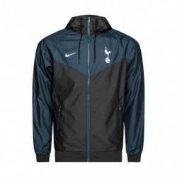 2018-2019 tottenham hotspur black green windbreake