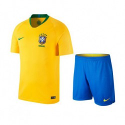 Brazil home youth kits 201