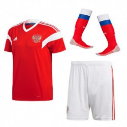 Kids russia 2018 world cup home fullsuit