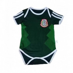 Baby Mexico Soccer Infant Crawl Suit 201