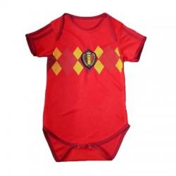 Baby Belgium Soccer Infant Crawl Suit 201