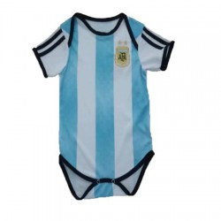 Baby Argentina Soccer Infant Crawl Suit 201