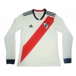 2018-2019 river plate home long sleeve soccer jerse