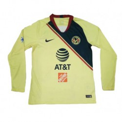 2018-2019 club america home long sleeve soccer jerse