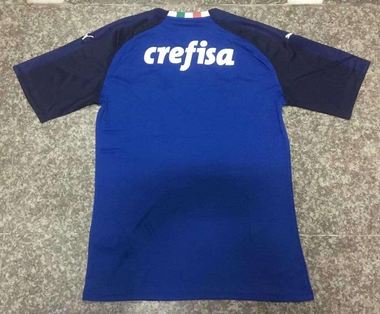 Brazil Dream League Soccer Kit,Brazil Kit Dream League Soccer,Palmeiras  Goalkeeper Soccer Jersey Blue 2019-2020