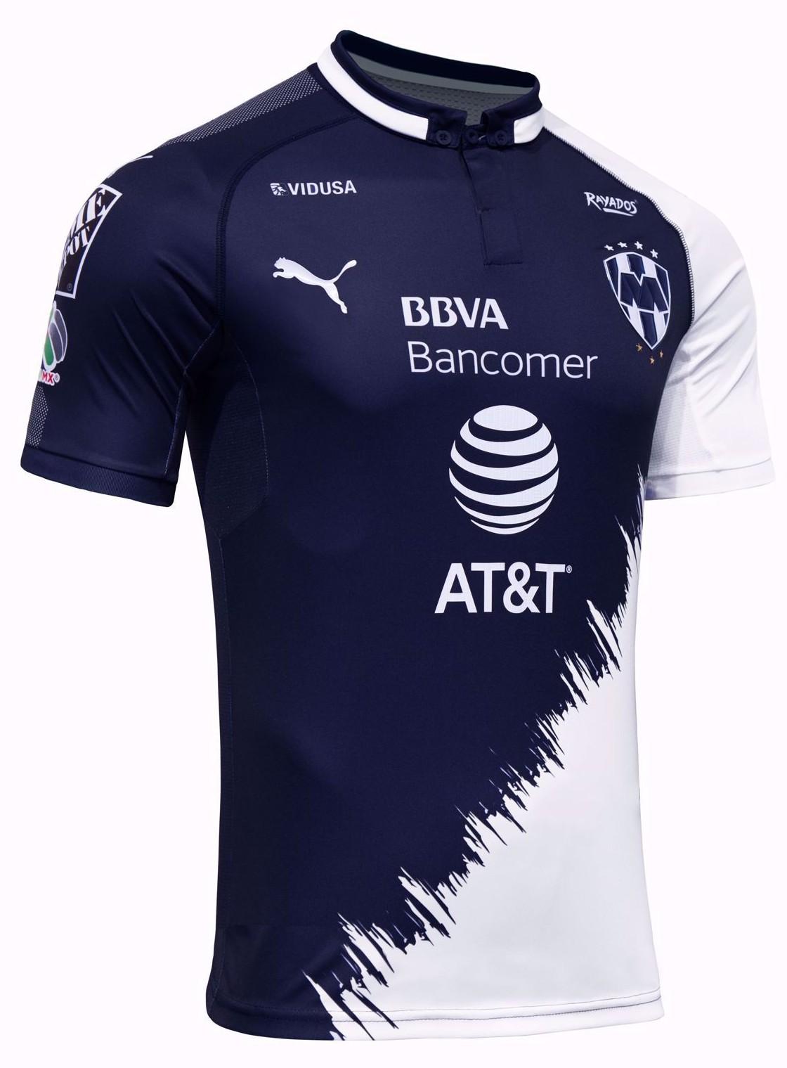 Rayados De Monterrey Jacket,Monterrey Mexico Soccer Team,Monterrey Third Away Soccer Jersey 2018-2019
