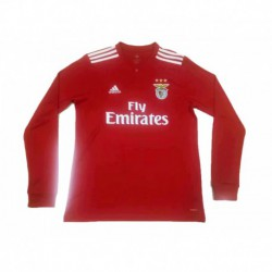 2018-2019 benfica home long sleeve soccer jerse