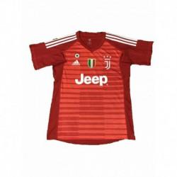 2018-2019 juventus red goalkeeper soccer jerse