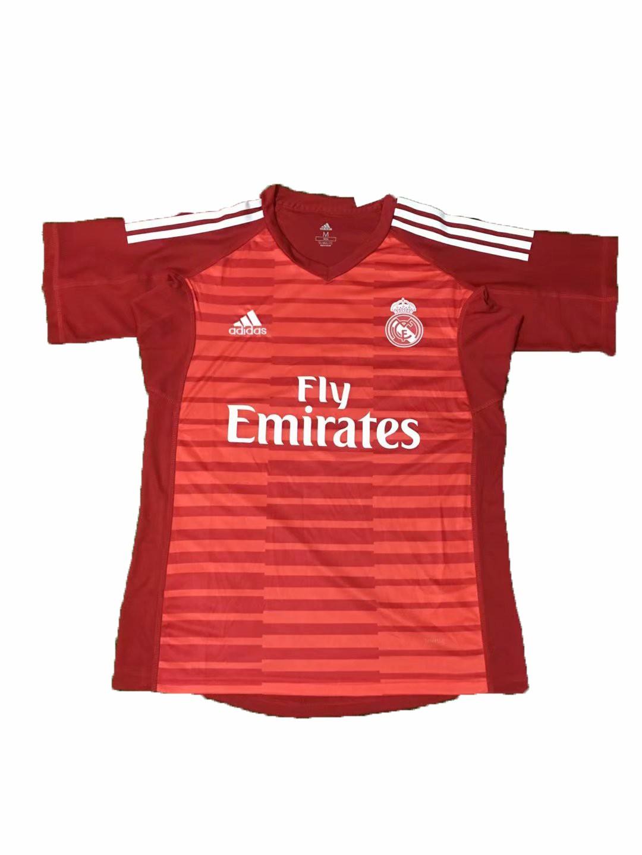 Real Madrid Red Stripe,Real Madrid Red Kit,2018-2019 Real Madrid ...
