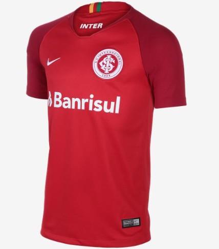 the best attitude e9725 08193 Kit Do Sport Dream League Soccer 2018,T Shirt Benfica Sport Zone,Sport Club  Internacional 2018 Home Soccer Jersey Shirt