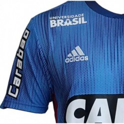 Flamengo third soccer jersey 2018 with all sponsor