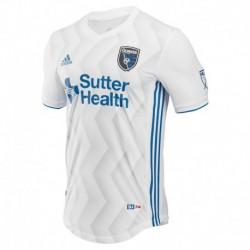2018-2019 Player Version San Jose Earthquakes Away Soccer Jersey Shirt