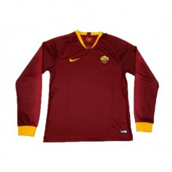 2018-2019 roma home long sleeve soccer jerse