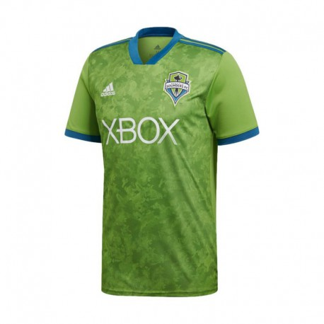 Seattle Sounders FC Home Green Soccer Jersey 2018-201
