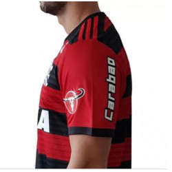 Flamengo soccer jersey 2018 with all sponsor