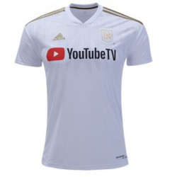 Los Angeles FC Away White Soccer Jersey Shirts 2017-1