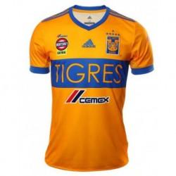Tigres uanl home yellow soccer jersey shirt 2018-201