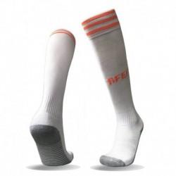 Spain away white sock 201