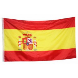 Spain flag national country banner super-poly Indoor/Outdoo