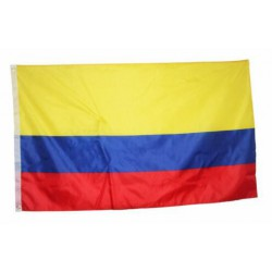 Colombiaflag national country banner super-poly Indoor/Outdoo