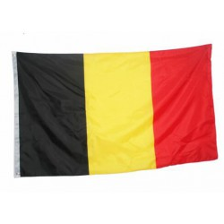 Belgium flag national country banner super-poly Indoor/Outdoo