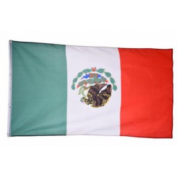 Mexico flag national country banner super-poly Indoor/Outdoo