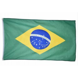 Brazil flag national country banner super-poly Indoor/Outdoo